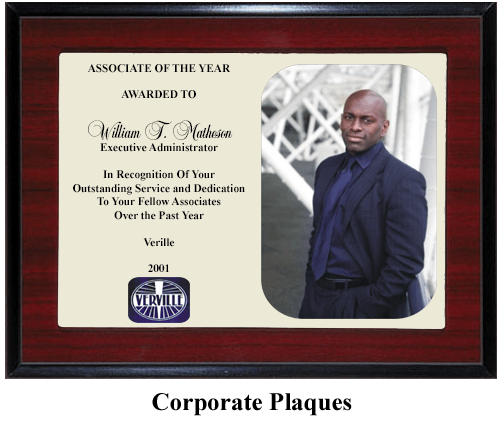 executive award plaque