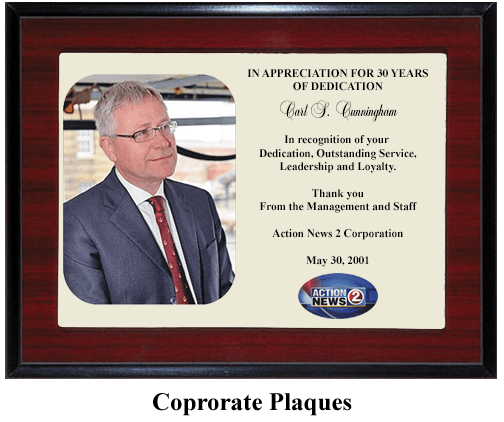leadership loyalty award plaque