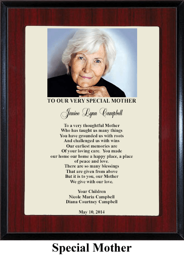 Mother Gift Plaque